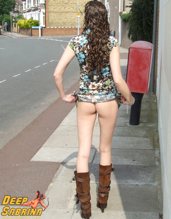 outdoor exhibitionist